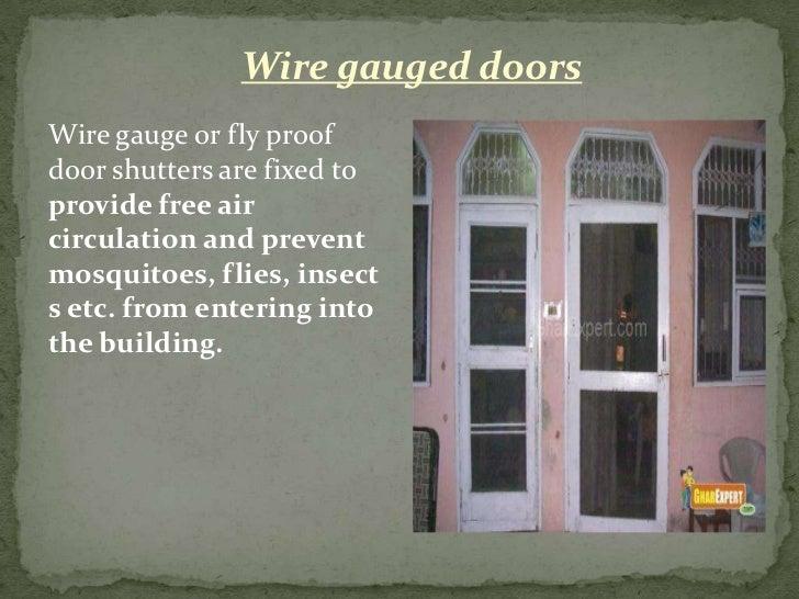 17. Wire gauged doorsWire gauge ... & Doors u0026 windows