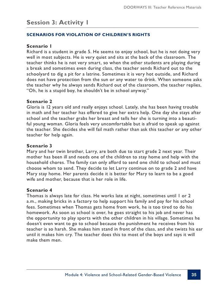 how to respond to violent behavior in children