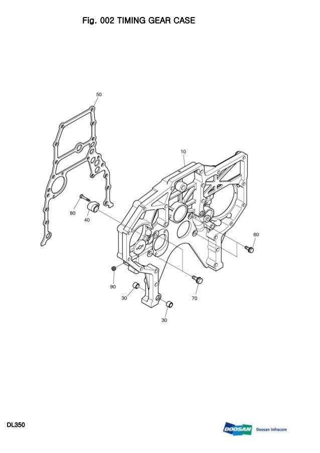 Doosan dl350 wheeled loader service repair manual