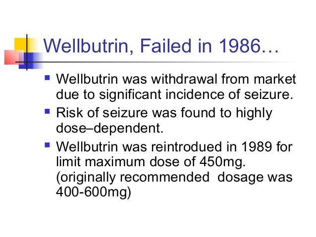 Wellbutrin For Anxiety Dosage