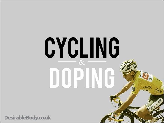 CYCLING & DOPING