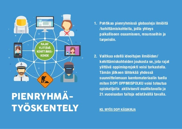 JORMA ENKENBERG, ANU LILJESTRÖM & HENRIIKKA VARTIAINEN ARVIOINTI DOP!-OPPIMISPROJEKTIN http://doppolkuja.blogspot.fi/