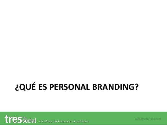 Webinar en #DopplerAcademy - Creando una Estrategia de Personal Branding en Social Media Slide 3