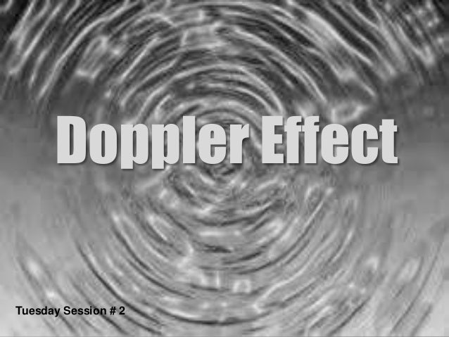Explainer: the Doppler effect - The Conversation