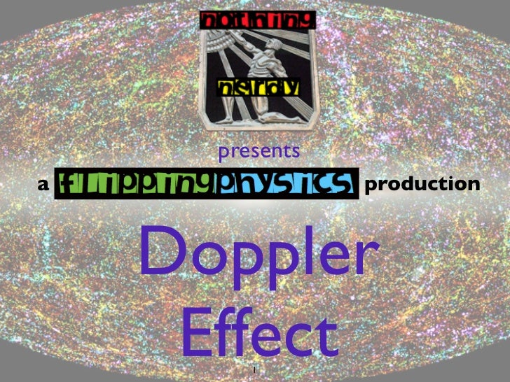 presentsa                production    Doppler     Effect         1