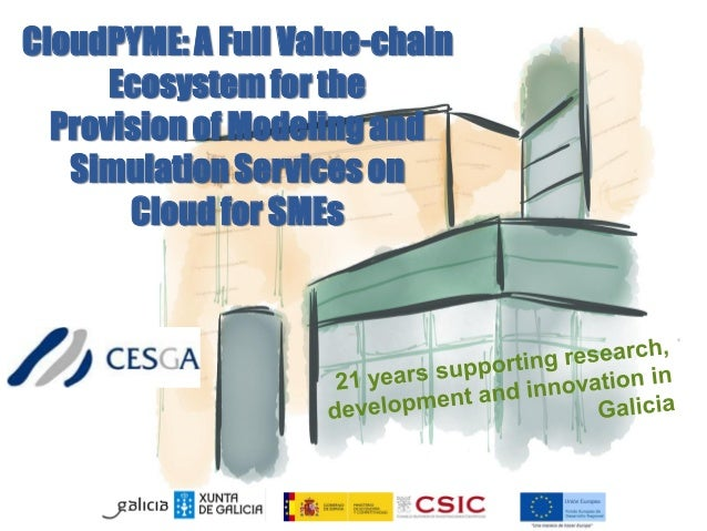 CloudPYME: A Full Value-chain Ecosystem for the Provision of Modeling and Simulation Services on Cloud for SMEs