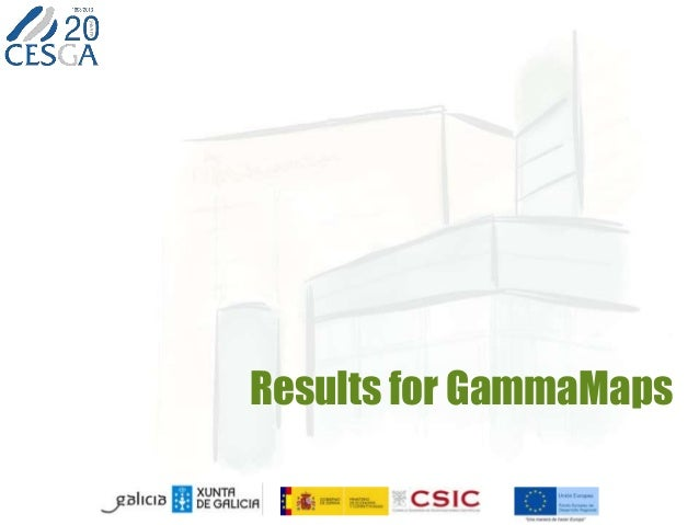 Results for GammaMaps