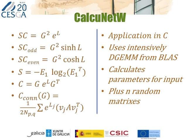 CalcuNetW