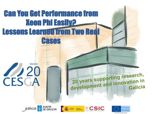 Can You Get Performance from Xeon Phi Easily? Lessons Learned from Two Real Cases