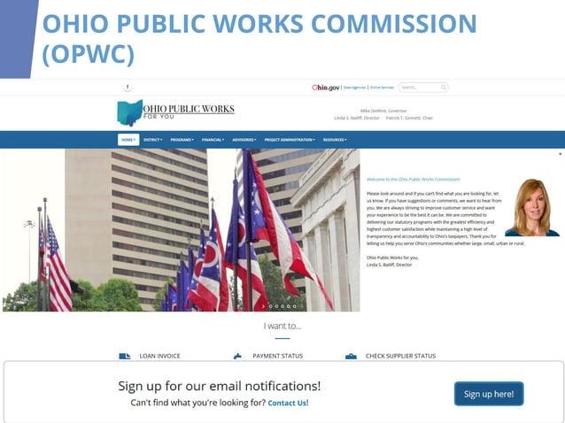 OHIO PUBLIC WORKS COMMISSION (OPWC)