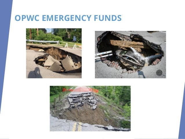 OPWC IMPLEMENTATION CHANGESTOPROJECTAGREEMENT REQUESTTOPROCEED DIBURSEFUNDS PROJECT AGREEMENTS Released July 1, 2020 One C...