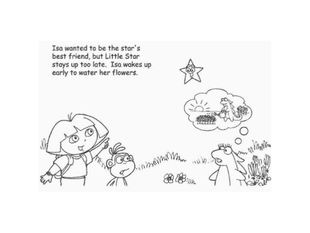 Dora the explorer Colouring Pages and Kids Colouring