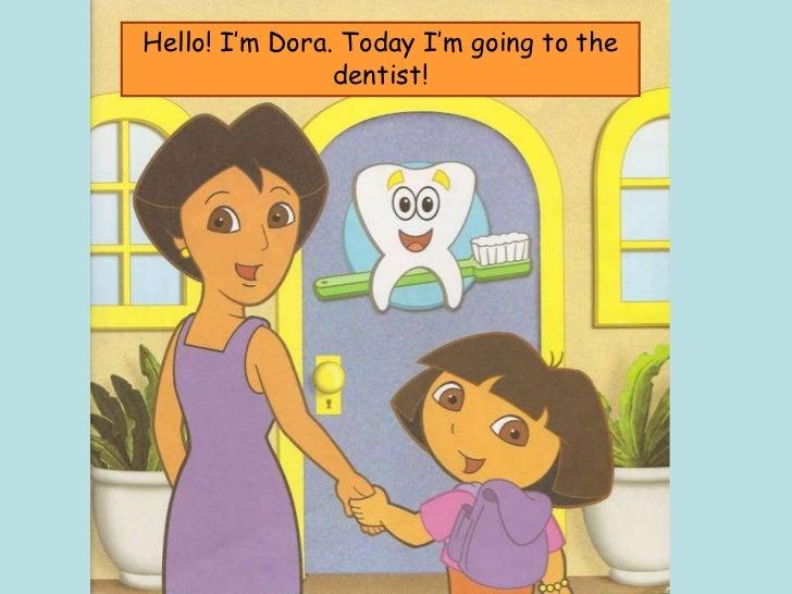 Dora - A visit to the dentist Slide 2