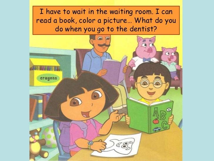Dora - A visit to the dentist Slide 3