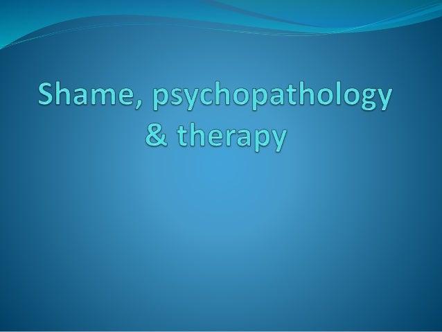 Psychopathology Linked To Trauma Teachtrauma >> Shame In Dissociative Disorders And Schizophrenia