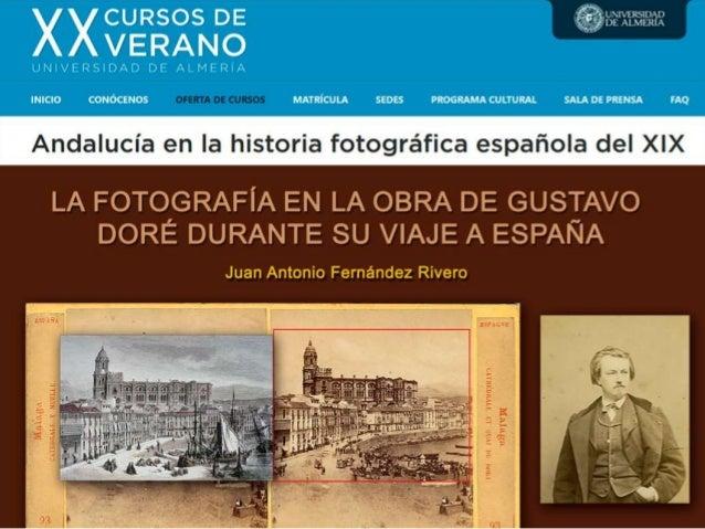 La fotografía en la obra de Gustavo Doré durante su viaje a España