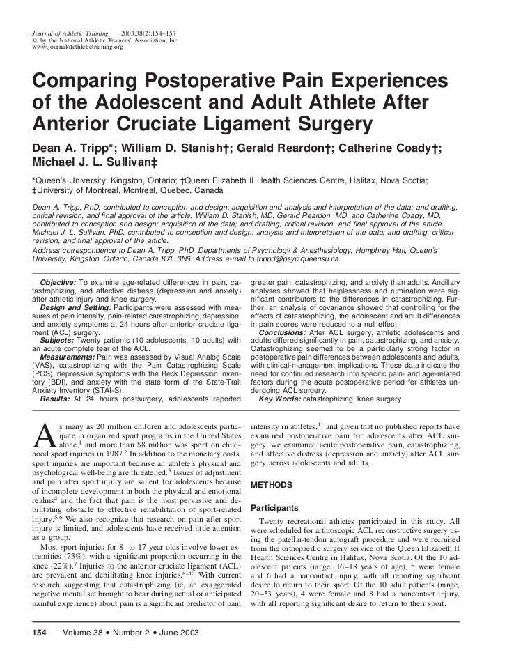 Journal of Athletic Training    2003;38(2):154–157  by the National Athletic Trainers' Association, Incwww.journalofathlet...