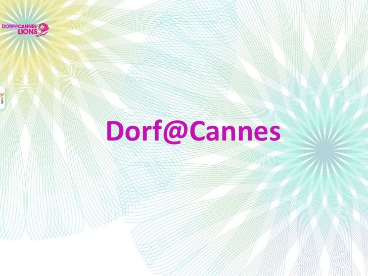 Dorf@Cannes<br />