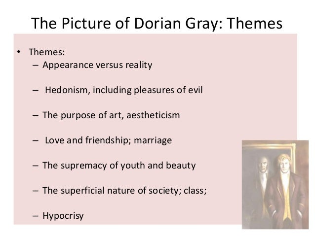 the picture of dorian gray plot overview essay At the turn of the 1890s, he refined his ideas about the supremacy of art in a series of dialogues and essays, and incorporated themes of decadence, duplicity, and beauty into what would be his only novel, the picture of dorian gray (1890) the opportunity to construct aesthetic details precisely, and combine them with larger social themes.