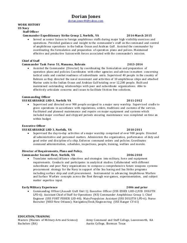 dorian jones general resume jan 2016