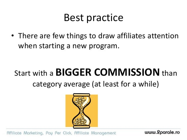 Top reasons to stop promoting an affiliate program 54% 52% 36% 35% 30% 27% low eCPC % of rejected commissions too high lat...