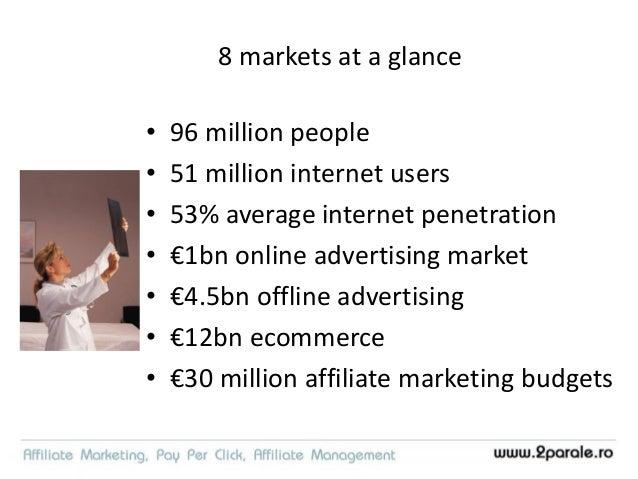 8 markets sizes Population Online advertising market € Offline advertising market € Romania 19M 46M 303M Bulgaria 7.3M 24M...