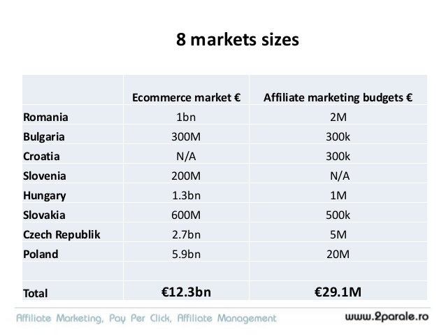 Big guys are already here • International/regional big players from ecommerce/advertising/affiliate • Zanox, Tradedoubler,...