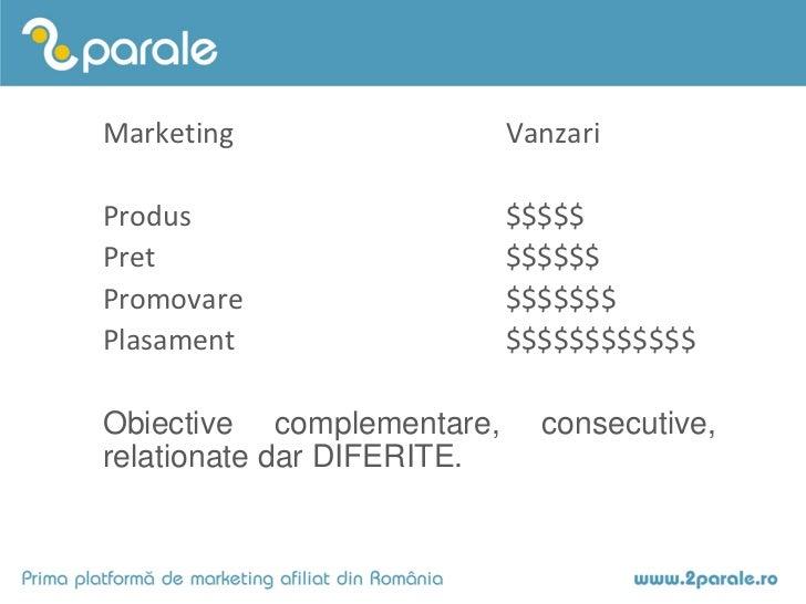 Marketingul afiliat in business - Dorin Boerescu (OBF 2011) Slide 3