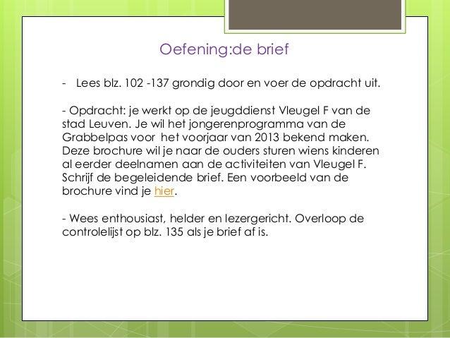 begeleidende brief brochure voorbeeld Begeleidende Brief Brochure Voorbeeld | gantinova