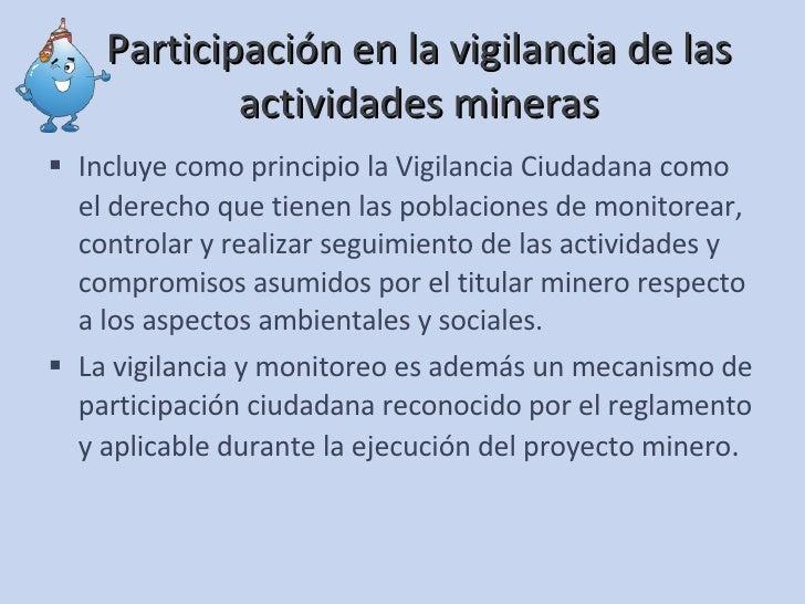 Monitoreo y Vigilancia Participativos (Marco Legal Rol de Actores y R…