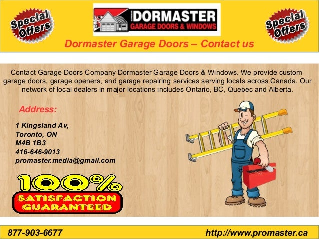 Dormaster Garage Door Installation Garage Door