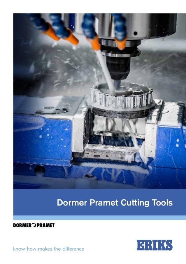 Dormer Pramet Cutting Tools From Eriks