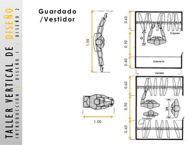 Medidas Vestidor. Proyecto De Carpinteria Residencial Closets Y ...