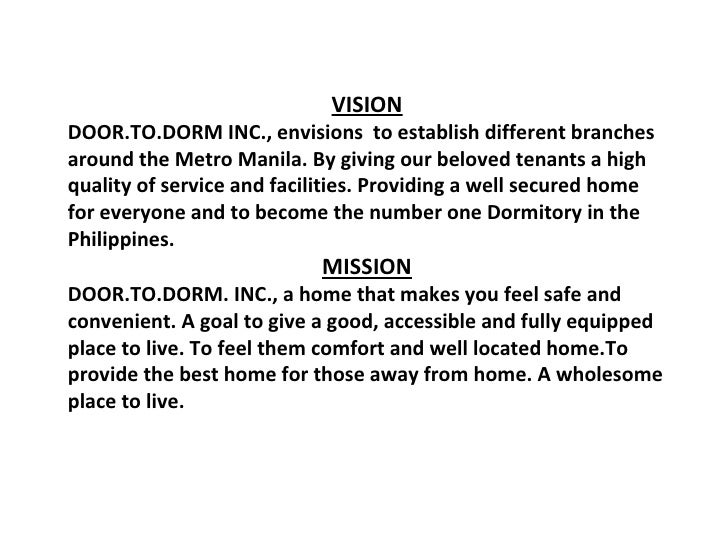 mission and vision of internet cafe