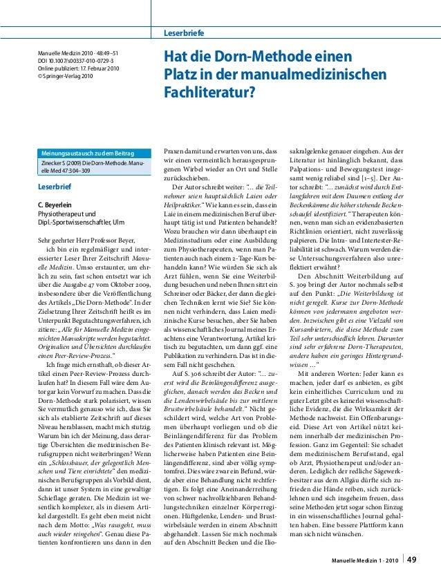 Manuelle Medizin2010 · 48:49–51 DOI 10.1007/s00337-010-0729-3 Online publiziert:17. Februar 2010 © Springer-Verlag 2010 ...