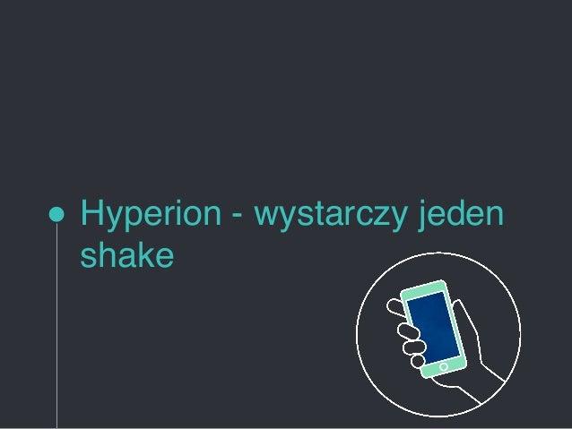 Hyperion - wystarczy jeden shake