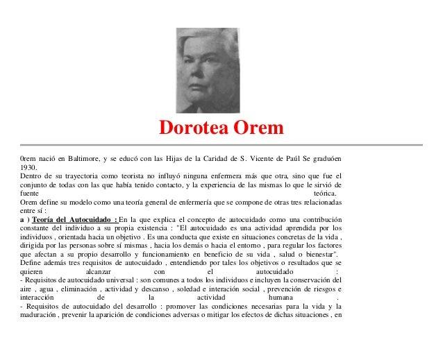 Dorotea Orem0rem nació en Baltimore, y se educó con las Hijas de la Caridad de S. Vicente de Paúl Se graduóen1930.Dentro d...