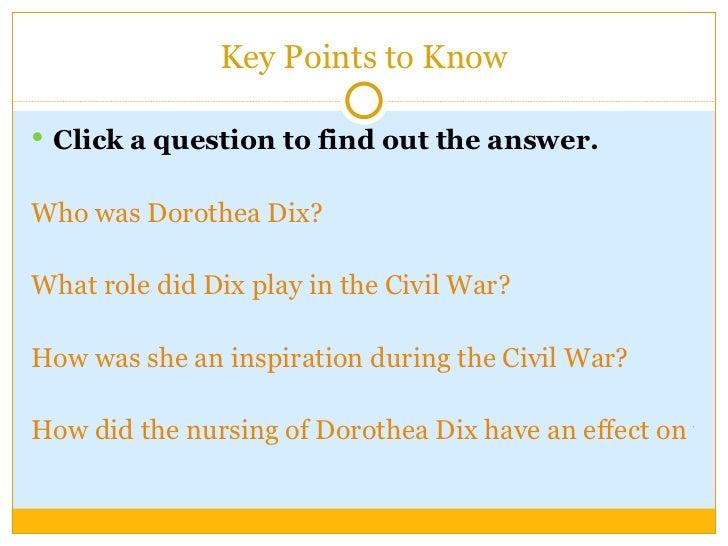 dorothy dix question