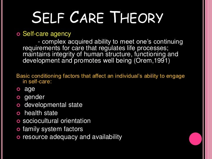 psycho social theory and nursing care Generativity versus stagnation is the seventh of eight stages of erik erikson's theory of psychosocial development this stage takes place during middle adulthood between the ages of approximately 40 and 65.