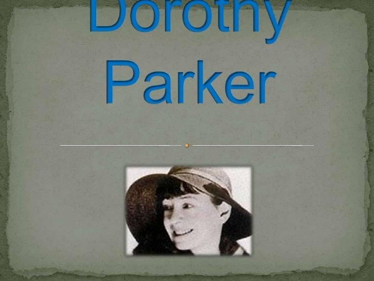 Dorothy Parker<br />