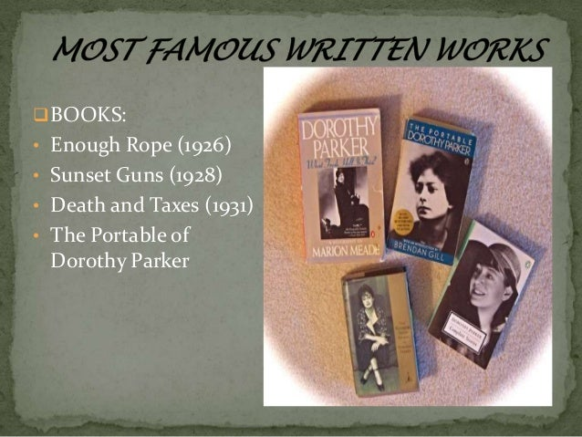 arrangements in black and white by dorothy parker The paperback of the the portable dorothy parker: arrangement in black and white portable dorothy parker 48 out of 5 based on 0 ratings.