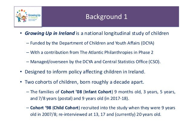 Key Findings From National Longitudinal >> Key Findings On The Lives Of 9 Year Olds In 2017 2018