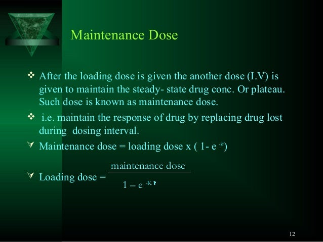eq recommended dosage
