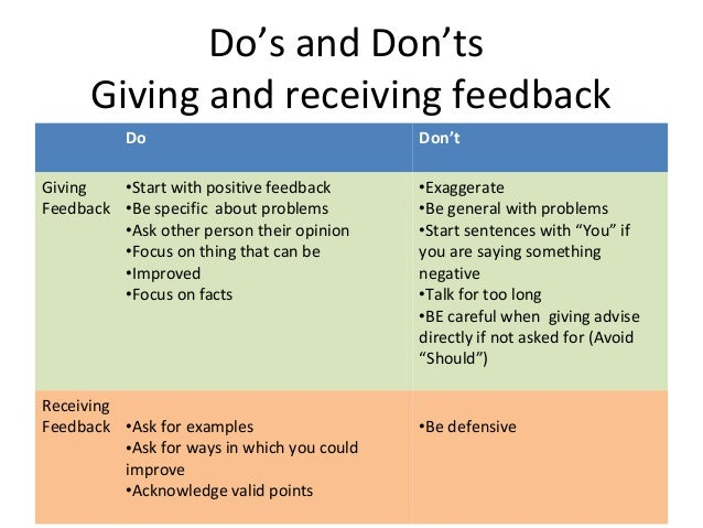 The Key to Effective Feedback: Learn How to Receive It ...