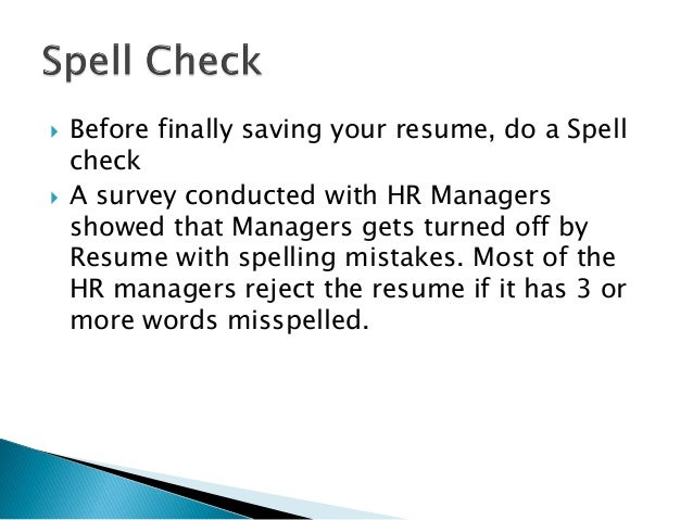 Top 10 Do's and Dont's to writing a winning resume ...