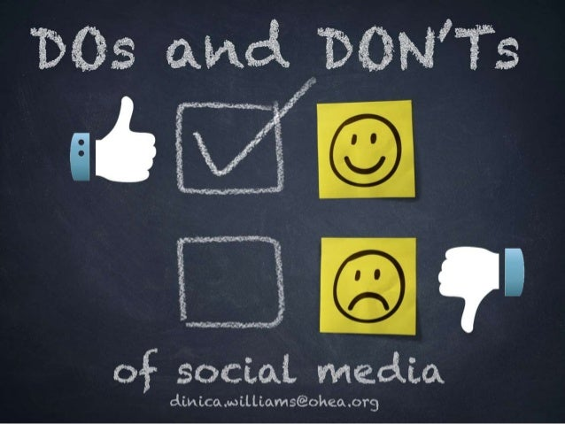 Benefits of social media  Provides a great space for sharing experiences, best practices collaborating, researching and u...