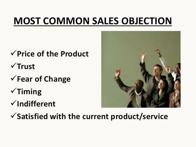 Sales Objections Slide 3