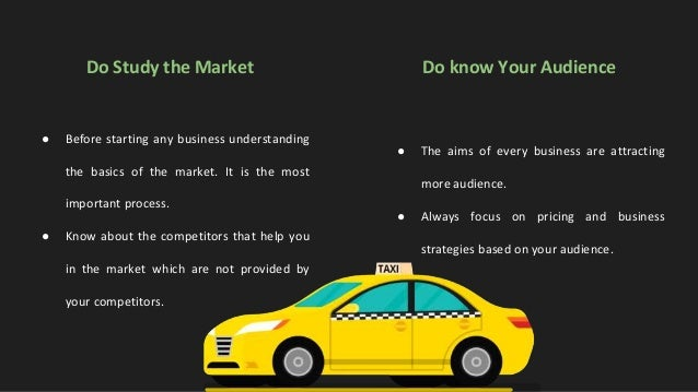 Do's for Successful Uber Clone Taxi Business