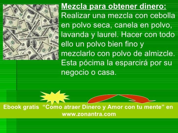 Dos hechizos efectivos para atraer dinero - Atraer dinero ...
