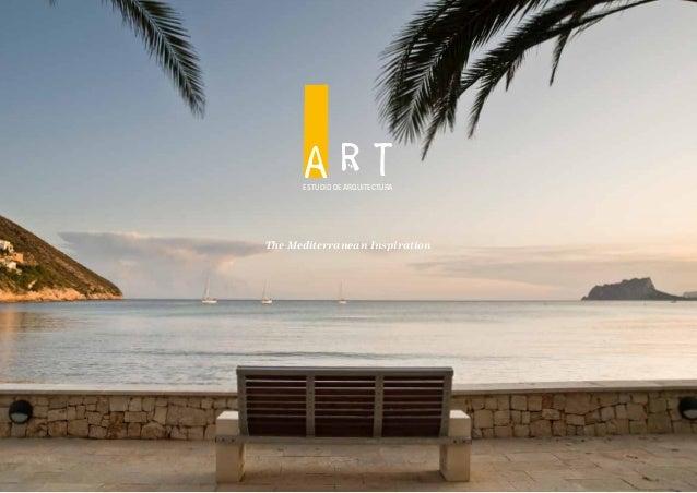 ESTUDIO DE ARQUITECTURA  The Mediterranean Inspiration